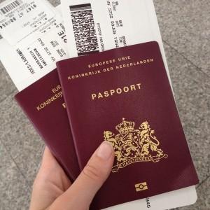 paspoort gegevens